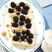 Amaretti-Brombeer-Kuchen