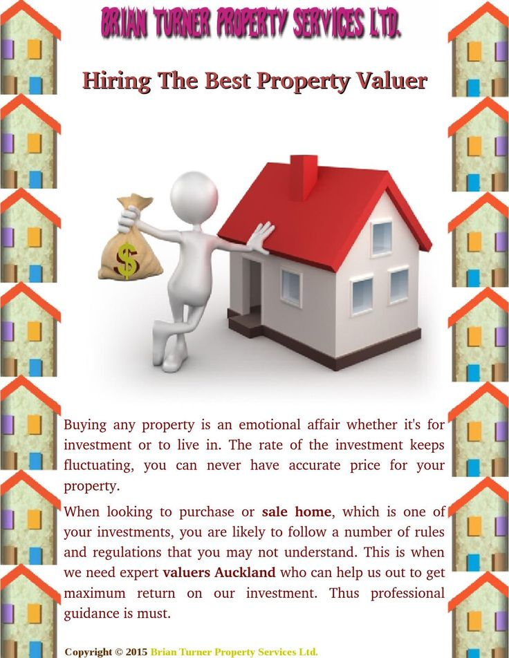 We helps you make more confident property #valuations when selling. It is one of the factors used to calculate property #values. Here some #professional guidance for choosing the best #property #valuer.
