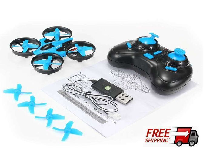 REALACC H36 Mini Quadcopter Drone 24G 4CH 6Axis Headless RC LED Lights Kids Toy