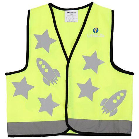 Buy LittleLife Rocket Reflective Vest Online at johnlewis.com