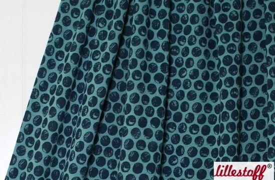 Mintfarbener Bio-Wolljersey lillestoff: Mysig Tid Poäng - Stoffe im Makerist Materialshop