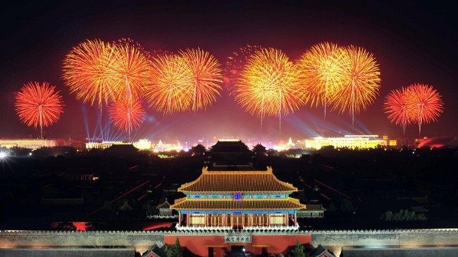 Chinese New Year 2019 Fireworks Images Activities Chinese New Year Traditions Holidays In China Fireworks Images
