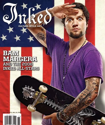 ... Board :: General :: Bam Margera :: Inked magazine cover and interview