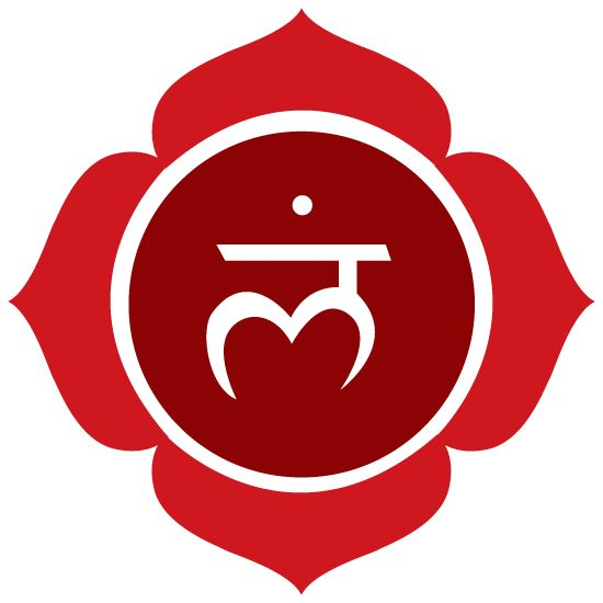 Chakra racine (Muladhara) Se situe entre l'anus et le pubis. C'est le chakra de tout ce qui est matériel et physique. Couleurs dominantes : rouge et noir Notre pierre associée : le jaspe rouge