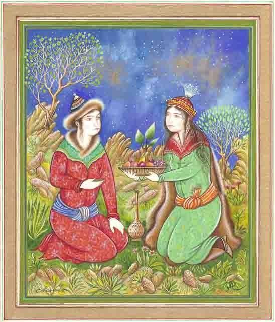 1000+ Images About Couples Dans Les Miniatures Persanes