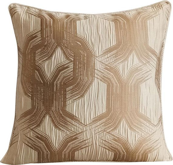 Decorative Beige Sofa Throw 12 X12 Jacquard Silk Throw Cushion Cover Jacquard Hexagon Throw Cushion Abstract Pearl Beige Mystery Decorative Throw Pillow Covers Decorative Throw Pillows Silk Throw Pillows