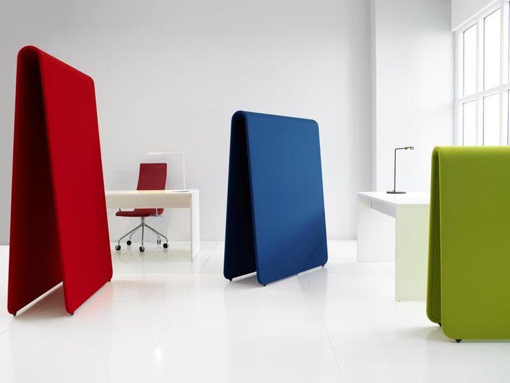 Alp is a sound absorbing mobile room divider with multiple functions from Sweden. It comes in three sizes that can slide into each other or stand alone