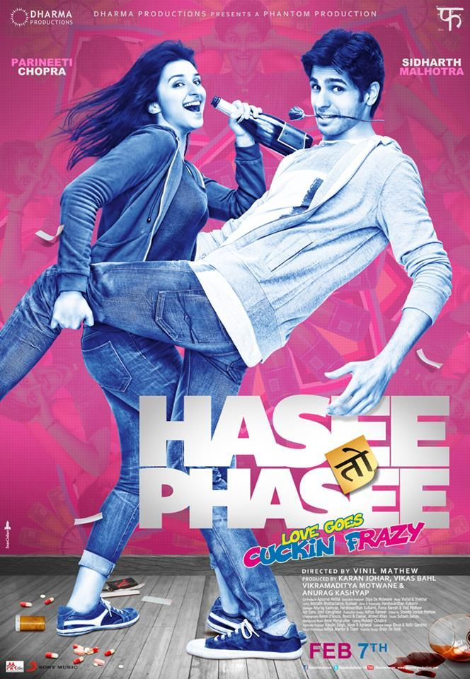 Third poster from Hasee Toh Phasee