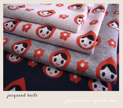 Little Red Riding Hood in Jacquard Jersey Knit