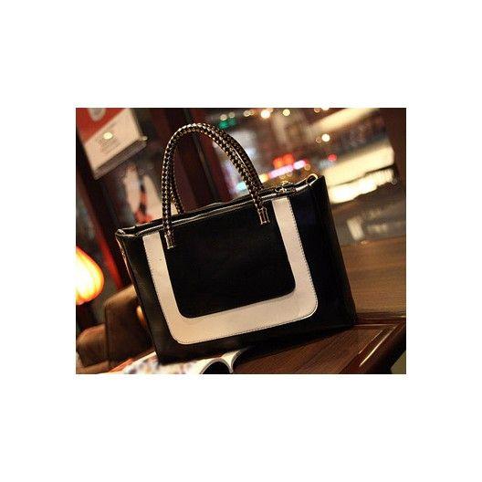 cute black & white fashion handbag http://shop.avec-moi.com.au/home/197-fashion-black-white-bag.html