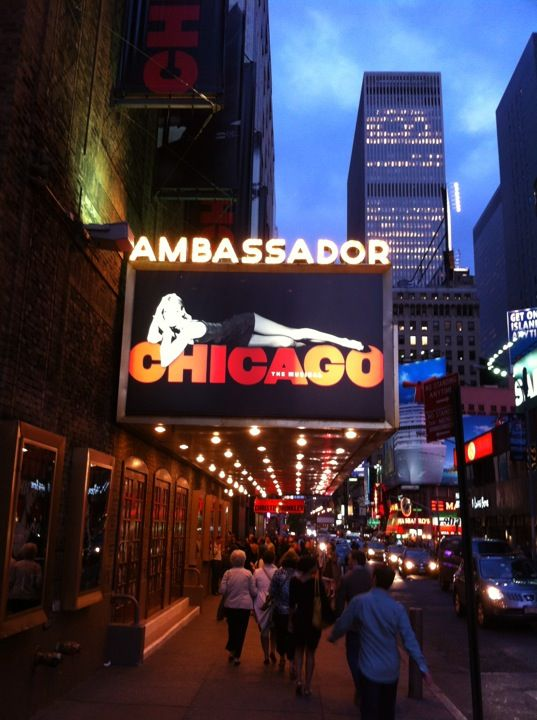 Ambassador Theatre: Chicago the Musical in New York, NY