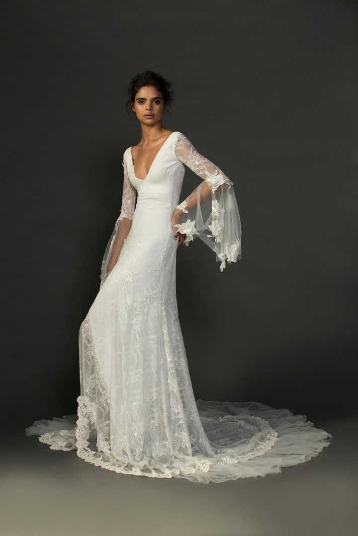 Look de mariée à la mode flamenco