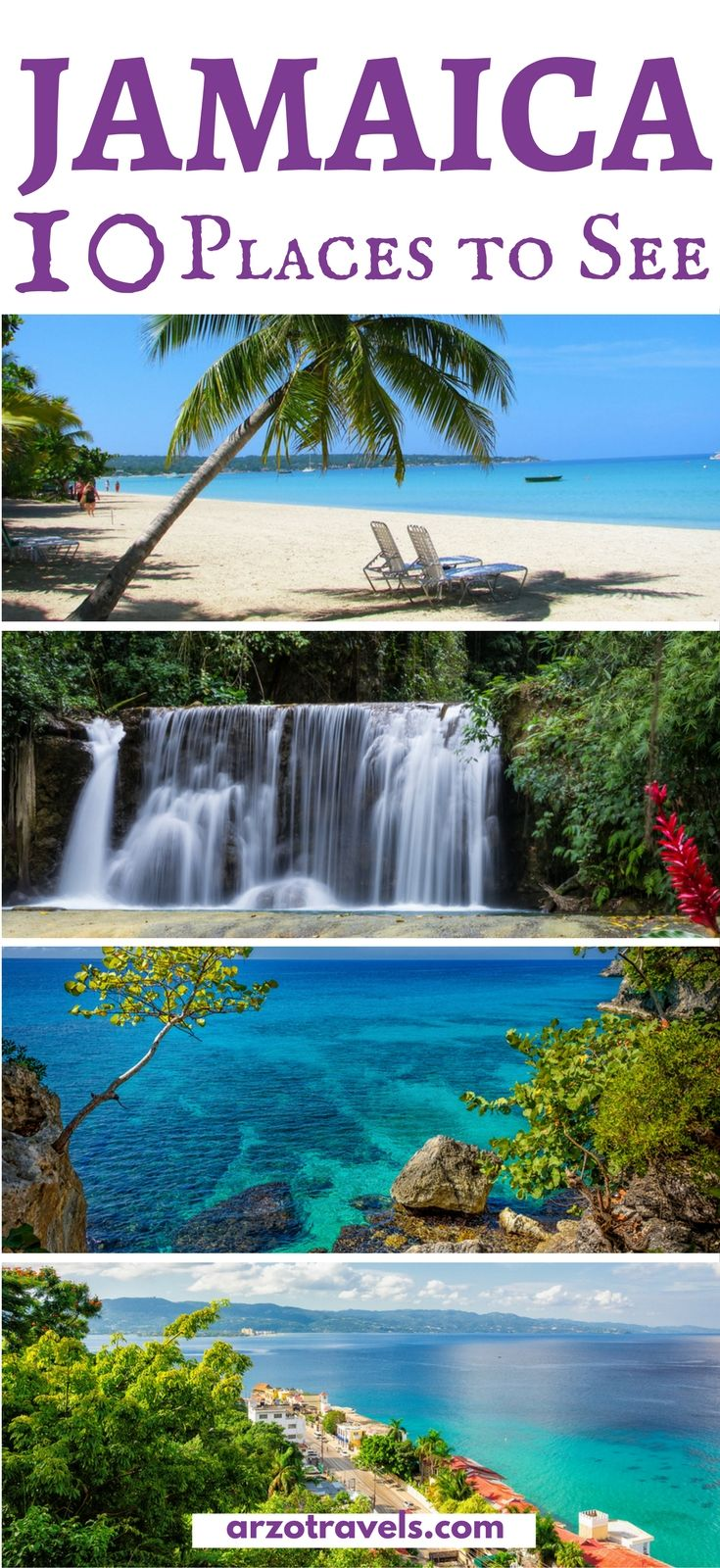 Best places to visit in Jamaica - things to do and places to see in Jamaica and all the important travel tips including security tips for female travelers.