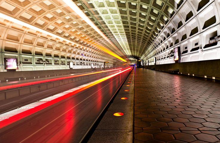 """""""Subway Light"""" by Michael Woloszynowicz, via 500px."""