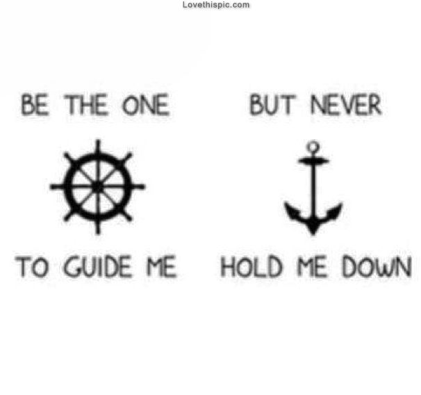 Guide Me quotes never down one hold quote