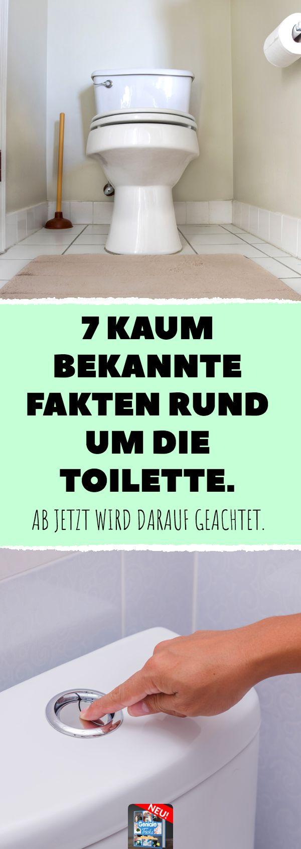 7 kaum bekannte Fakten rund um die Toilette. #klo #klobrille #klopapier #toilett…