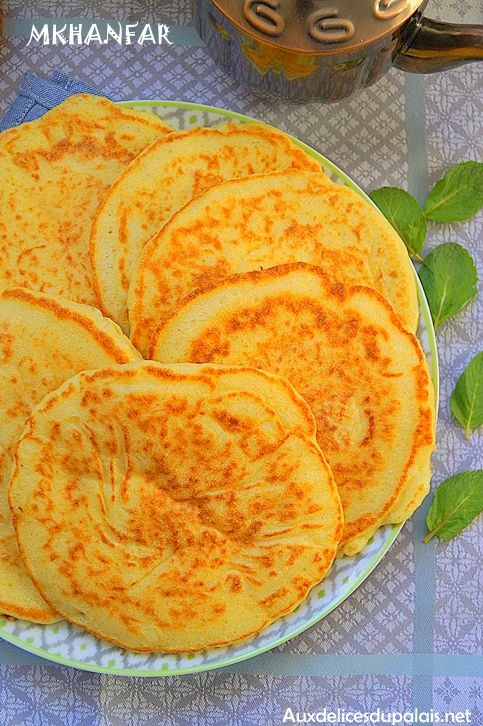 Mkhanfar crêpe berbère extra moelleuse