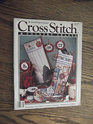 Cross Stitch And Country Crafts Magazine Christmas Stocking Patterns