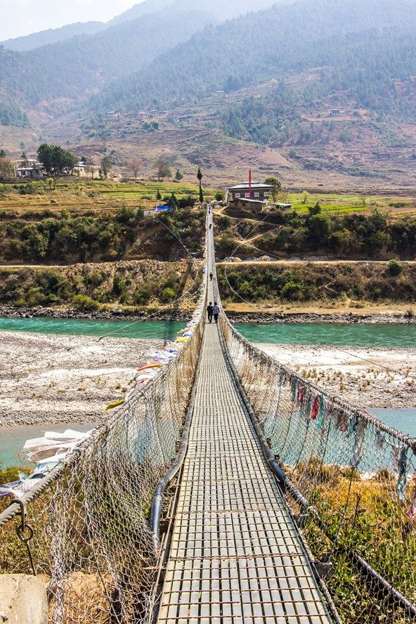 Fly to Paro, Bhutan's only airport, on Drukair from Delhi or Bangkok. You will need to book a guide through a travel agent to visit Bhutan.