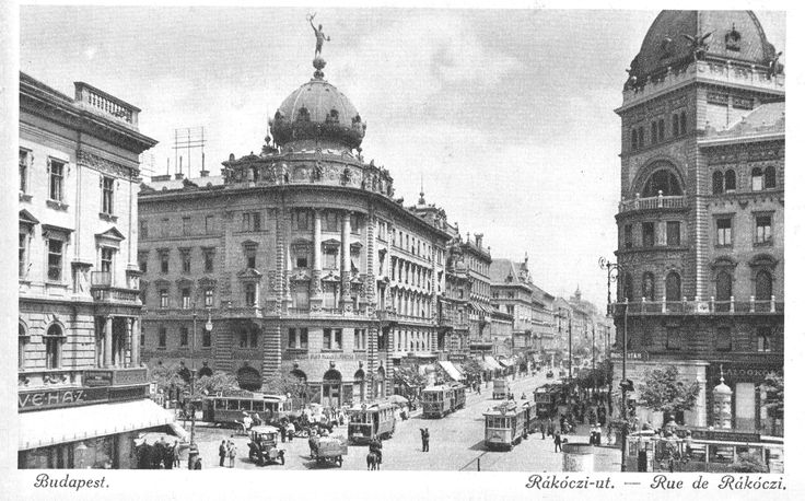 Budapest, Hungary in 1900.