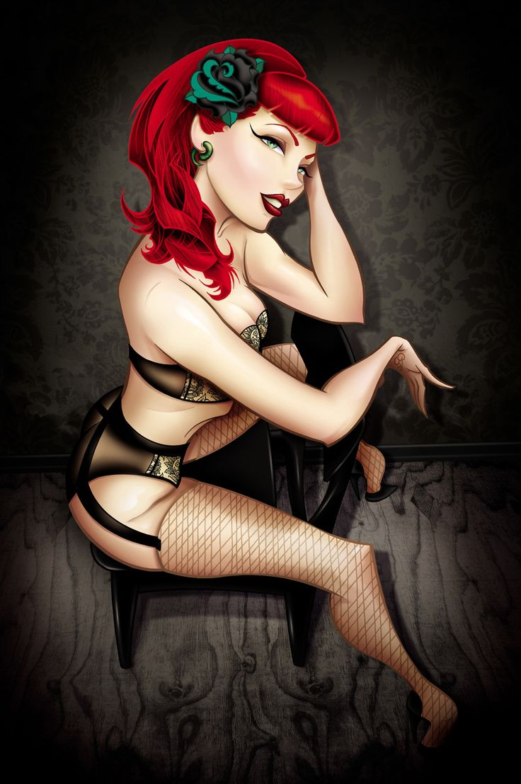 Tyson McAdoo is from Atlanta, Georgia and specializes in tattooing femme fatale and modern day pin up. Title: Dayna Artist: Tyson Mcadoo Made-to-order giclee fine art reproductions on canvas featuring