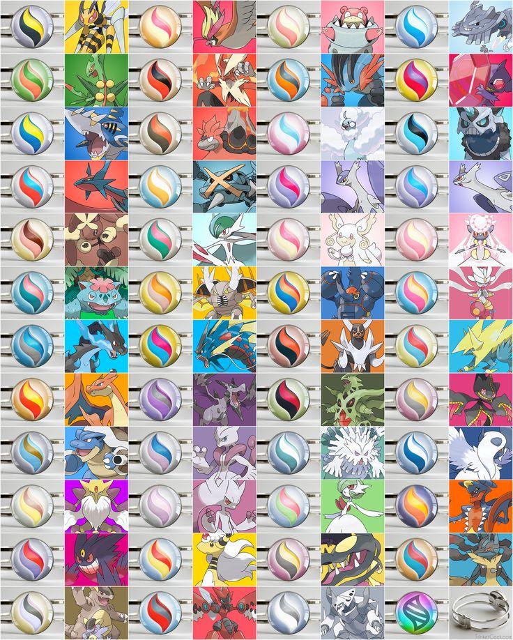 Pkmn mega stone bracelets stone bracelet pokemon and - Pokemon how to mega evolve ...