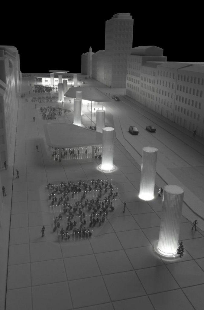 Norreport Station, COBE Анализ пешеходных потоков при проектировании