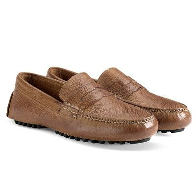 These hand sewn Cole Haan Air Grant penny loafers are perfect summer shoes,  great with jeans, shorts and khakis. They feature Nike Air technology for  all ...