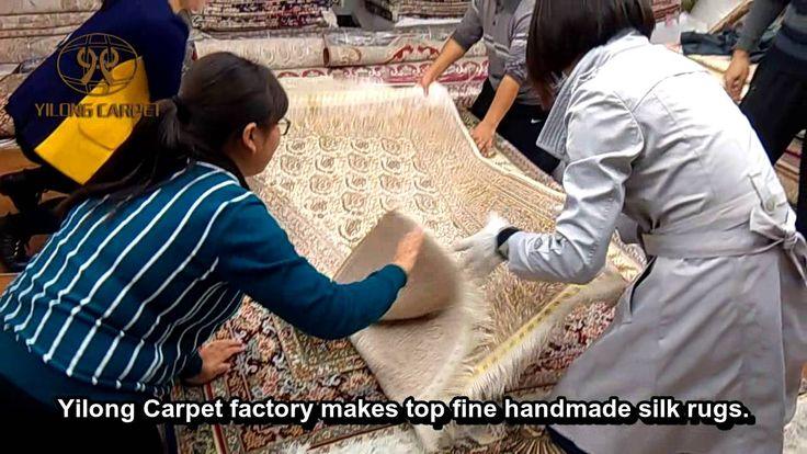 Handmade Silk Carpets & Rugs—-How to pack hand k…