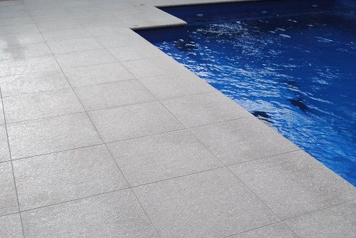 STEEL GREY GRANITE PAVER FLAMED . FOR MORE INFORMATION VISIT WWW.NATIONALTILES.COM.AU