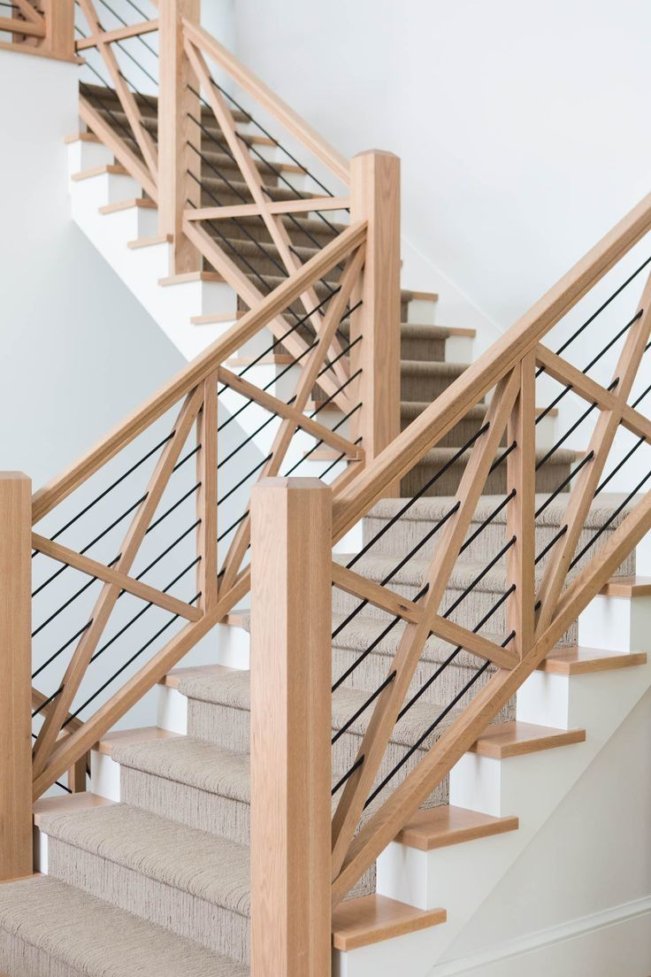 Country Stair Railing Ideas Farmhouse Stair Railing