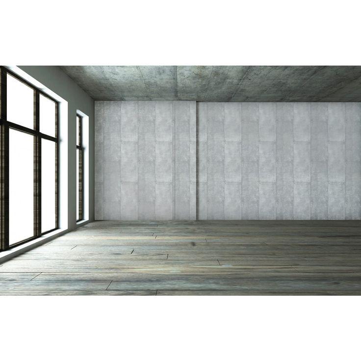 Tempaper Metal Temporary Wallpaper Silver