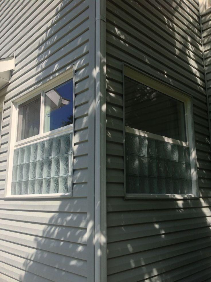 142 best glass block windows images on pinterest glass for Glass block options