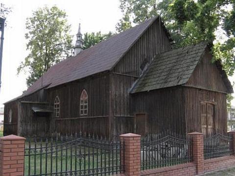 Rusinów - kościół drewniany
