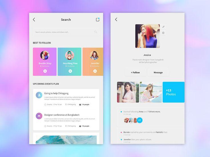 Marvelus - Social Apps Screen 02