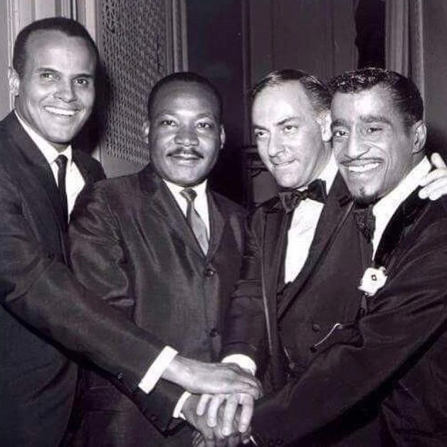 "If the gentleman has ability, he is magnanimous, generous, tolerant, and straightforward, through which he opens the way to instruct others. Xun Kuang    Harry Belafonte, Martin Luther King Jr., theater and film producer Hillard Elkins and Sammy Davis Jr. in April 1965 at ""Broadway Answers Selma,"" a show Mr. Hillard produced to raise money for Dr. King."