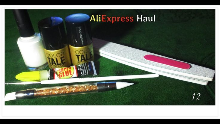 AliExpress Nail Art  Haul #12