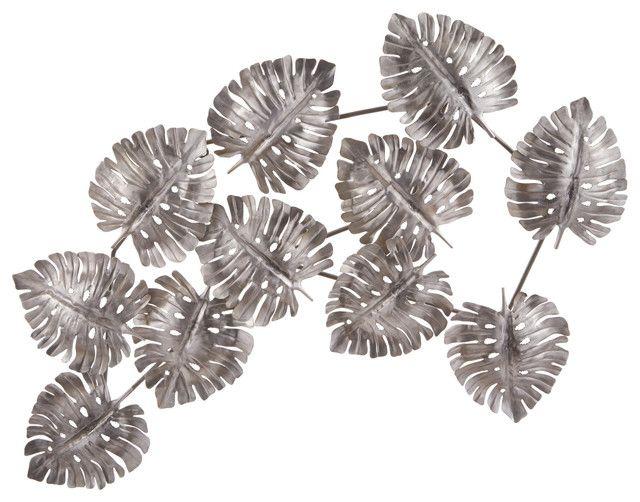 Wall Nice Ideas Metal Leaf Wall Art Copper Deco Fern Green 9 Inches High Palm Silver From 35 Metal Leaf Wall Art Metal Leaf Wall Art Leaf Wall Art Outdoor Art