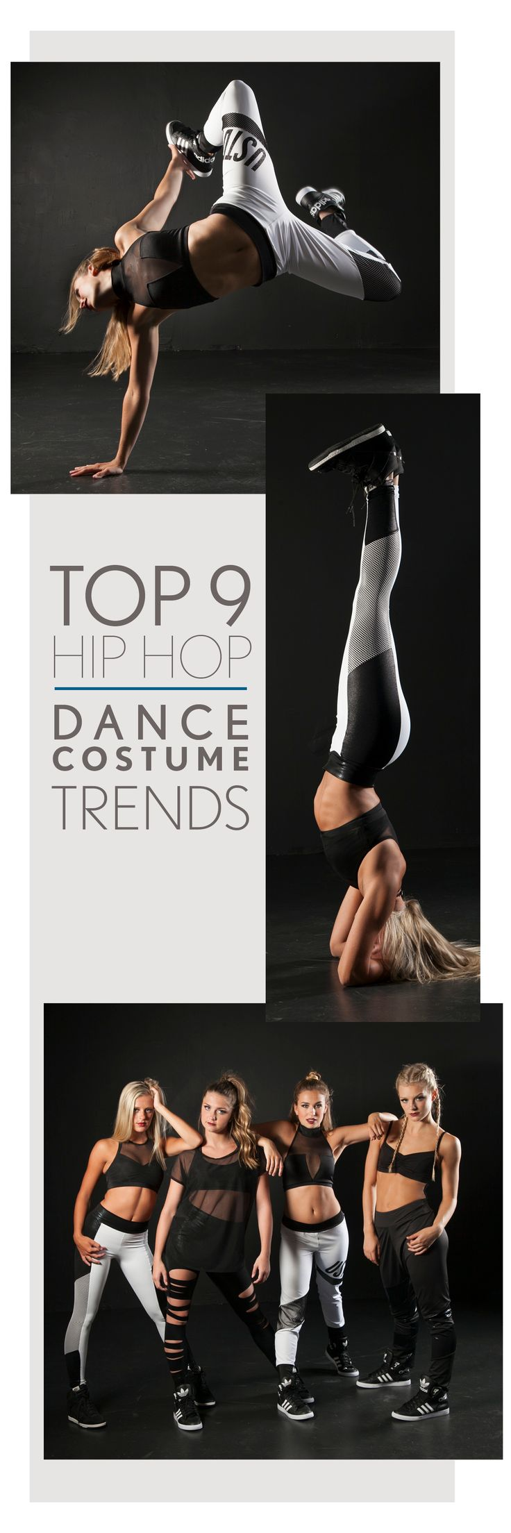 See what's trending in team hip hop dance!  Check out the Top 9 Hip Hop Dance Costume Trends on The Line Up's blog: