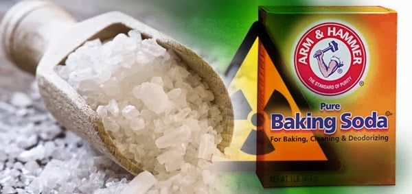 Sea Salt And Baking Soda, Best All Natural Remedy For Curing Radiation Exposure And Cancer