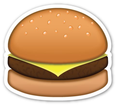 Hamburger | EmojiStickers.com