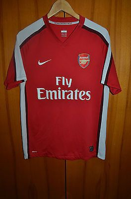 Arsenal london england 2008/2009/2010 home #football #shirt #jersey maglia nike ,  View more on the LINK: http://www.zeppy.io/product/gb/2/162197848067/