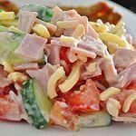 Wurst-Käse Salat