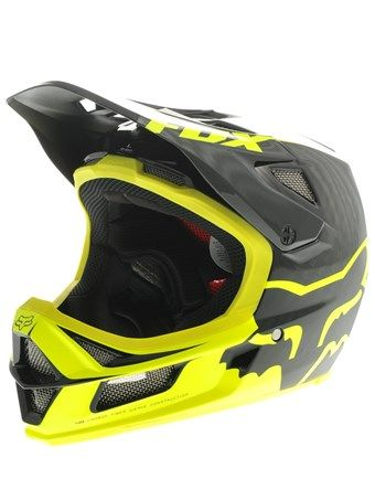 Fox Black Yellow Rampage Pro MTB Helmet | Fox | FreestyleXtreme