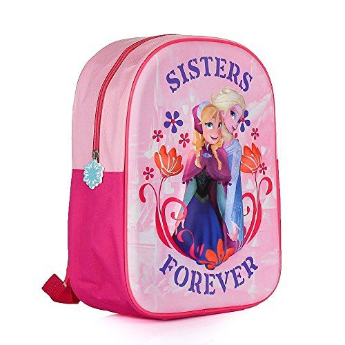 Disney La Reine des neiges DFR3-8114-B «EVA Sac à dos pour enfant: SAC A DOS ELSA ET ANNA LA REINE DES NEIGES FROZEN 3D Ce sac à dos…