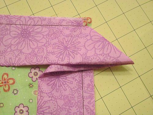 A Romantic Bedroom Retreat with Rowan & FreeSpirit Fabrics: Double Flange Pillow Shams | Sew4Home