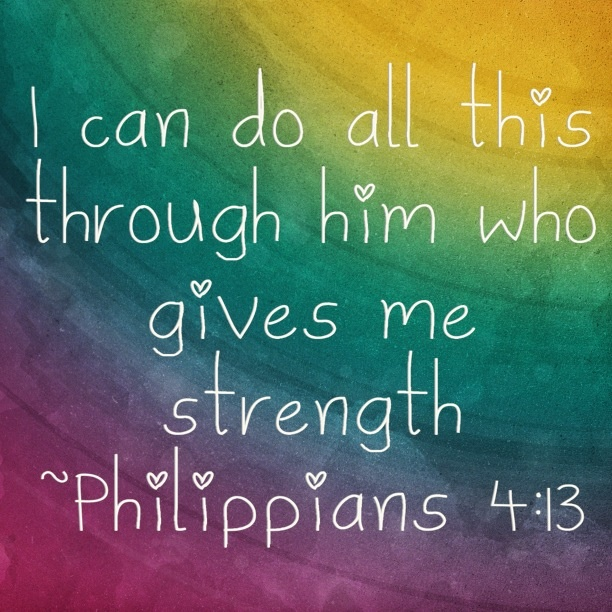 I Can Do All Things Through Christ Who Gives Me Strength Wallpaper