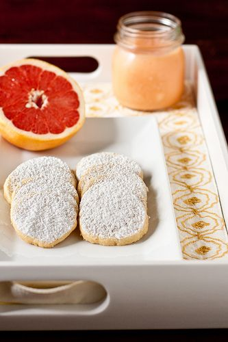 Grapefruit Meltaway Cookies Recipe (Confections of a Foodie Bride)
