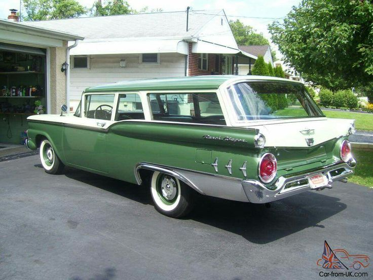 2869 best images about station wagons on pinterest for 1957 ford 2 door ranch wagon sale