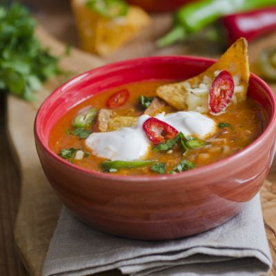 Copycat Applebee's Chicken Tortilla Soup